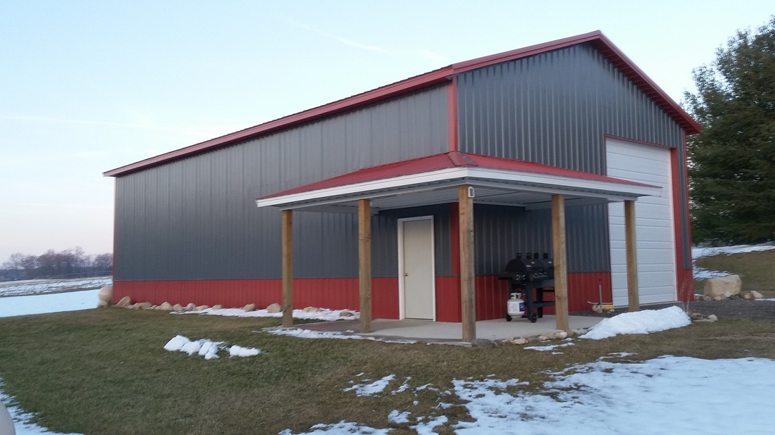 Pole barn post frame builder in indiana and michigan for Pole barns indiana